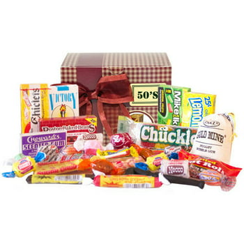 Candy Crate 1950s Sweets Decade Gift Box