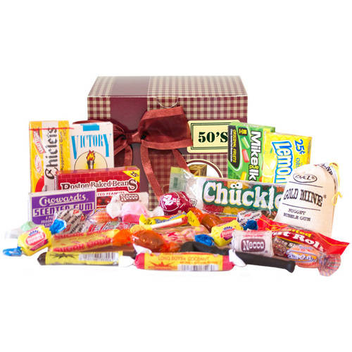 Candy Crate Old Fashioned 1950s Sweets Decade Gift Box