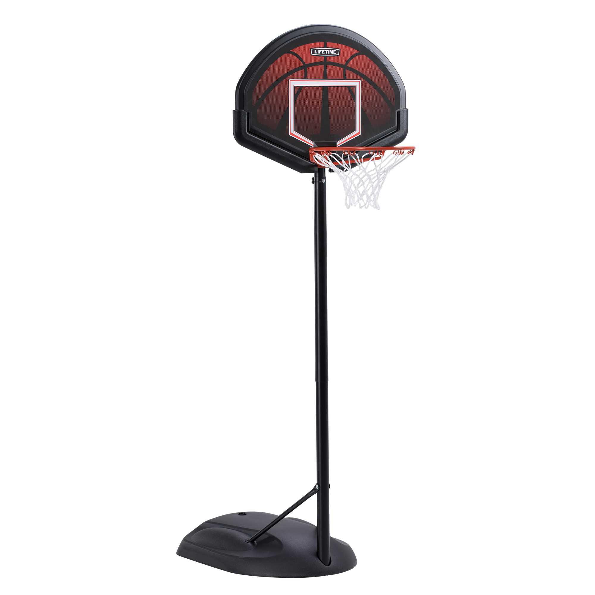 Lifetime Youth Basketball Telescopig Adjustment System.