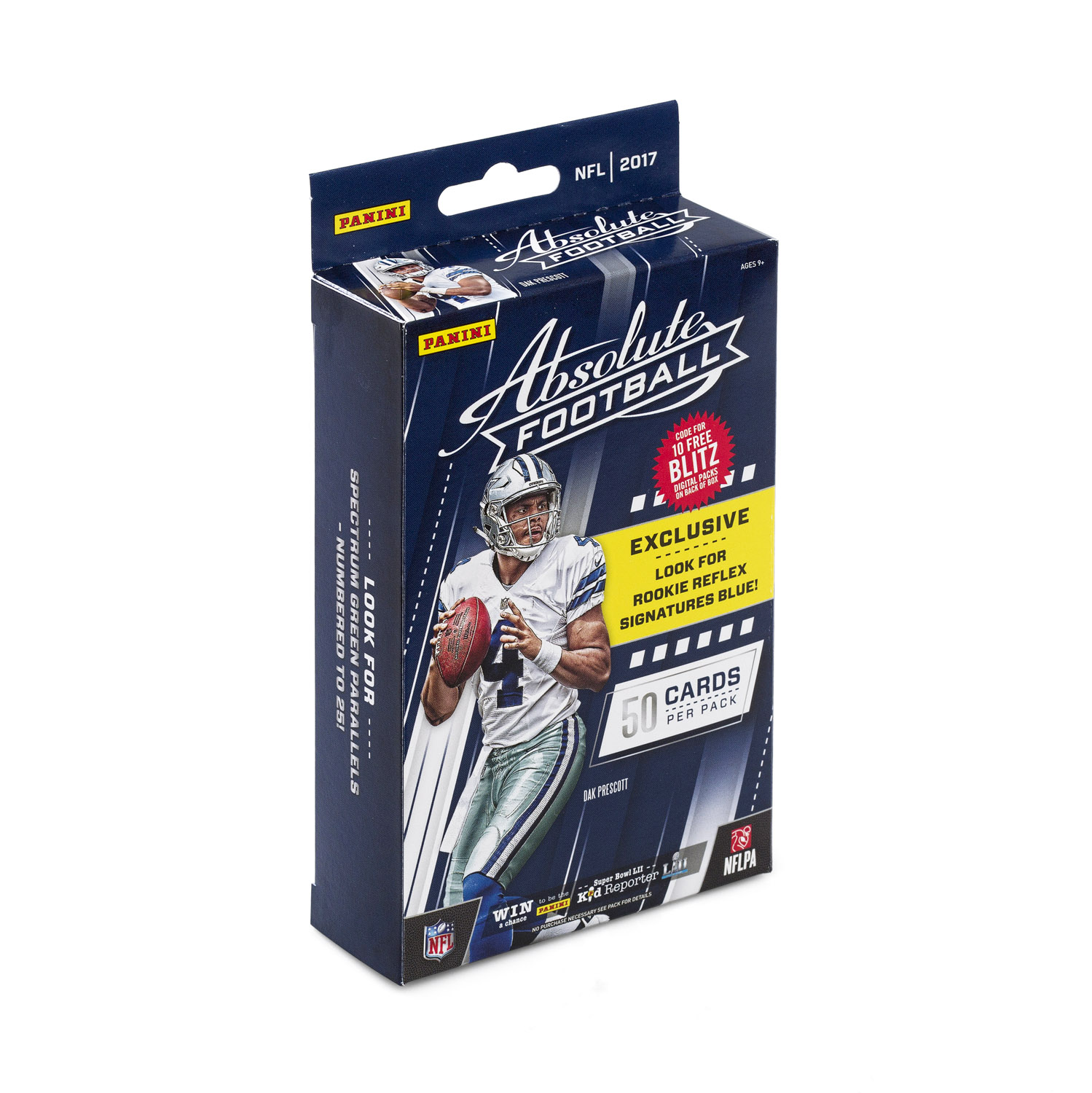 2017 Panini Absolute Football NFL Hanger Box