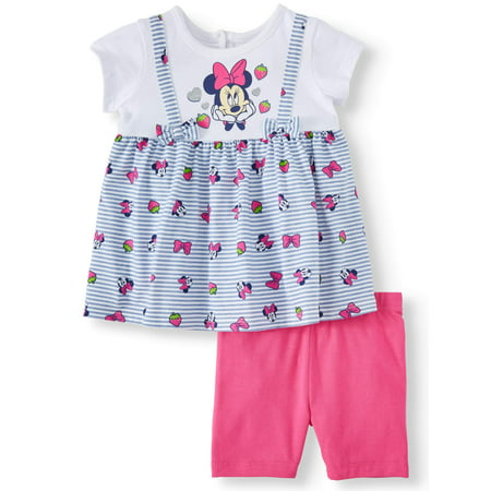 Minnie Mouse Jumper and Short Set, 2-Piece Set (Baby Girl) - Baby Minnie First Birthday