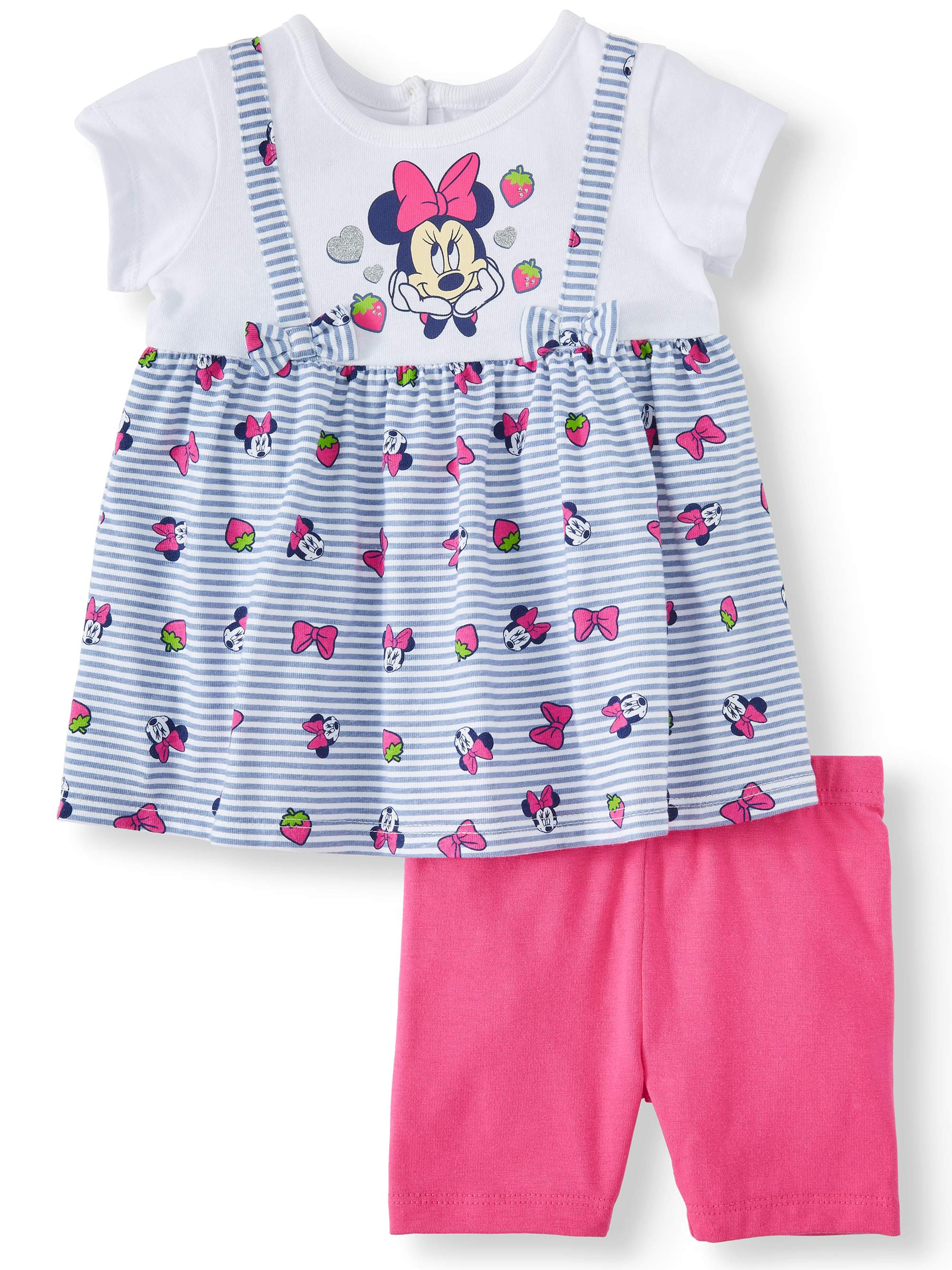 Minnie Mouse Jumper and Short Set, 2-Piece Set (Baby Girl)
