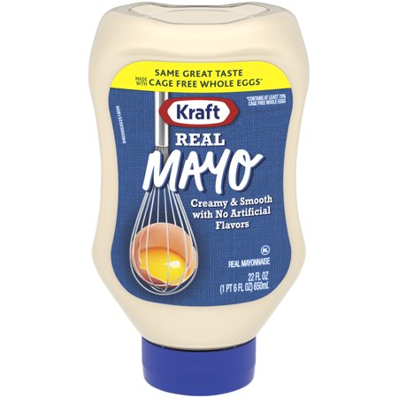Kraft Mayo Mayonnaise Real  22 Fl Oz  Bottle
