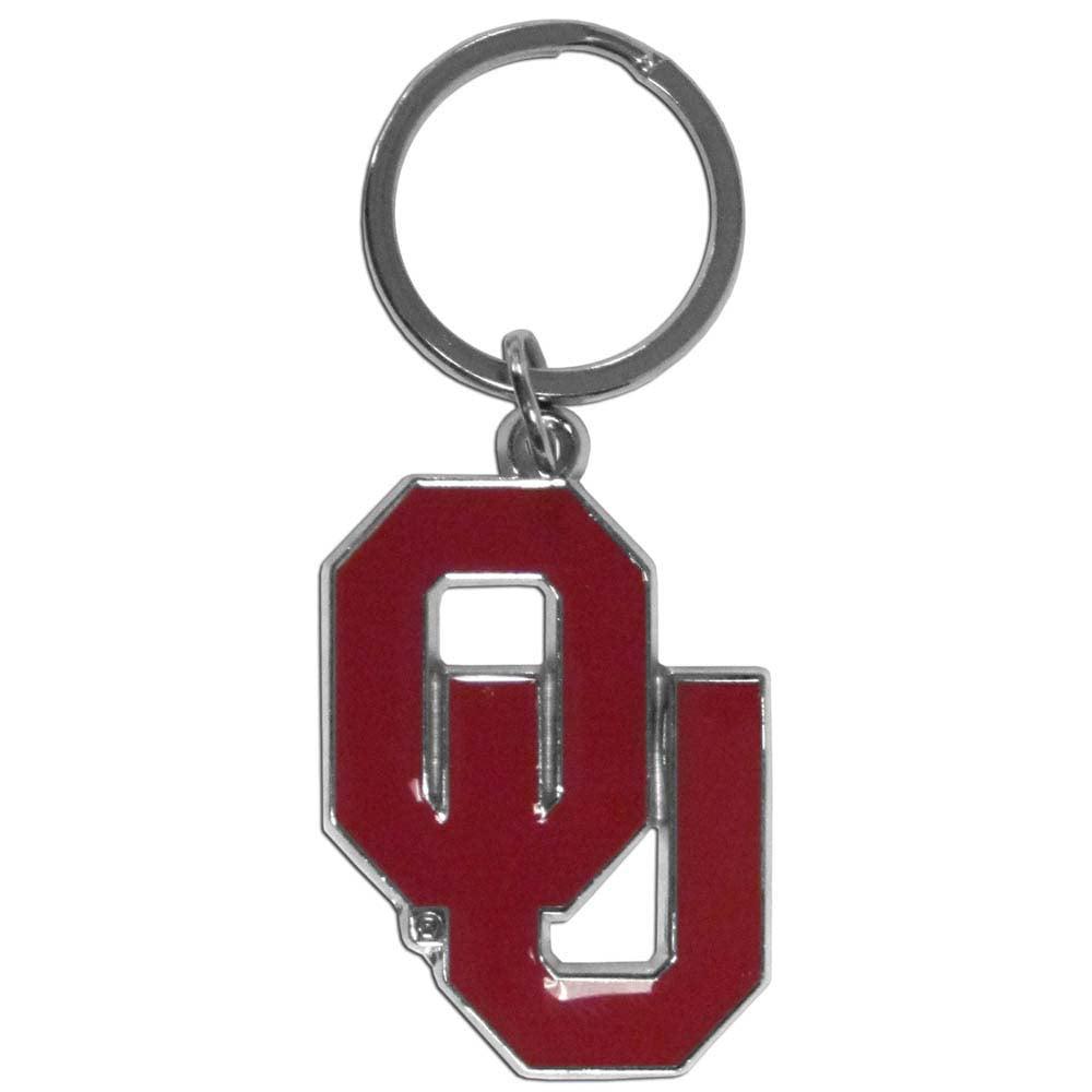 Oklahoma Sooners Enameled Key Chain (F)
