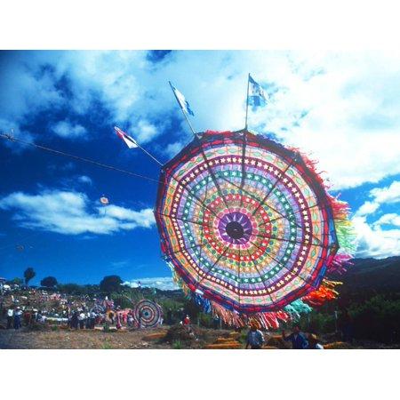 Giant Kite Festival, All Souls All Saints Day, Guatemala Print Wall Art (All Saints Day All Souls Day Halloween)