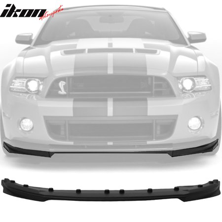 Fits 10-14 Ford Mustang Shelby GT500 OE Style Front Bumper Lip Polypropylene