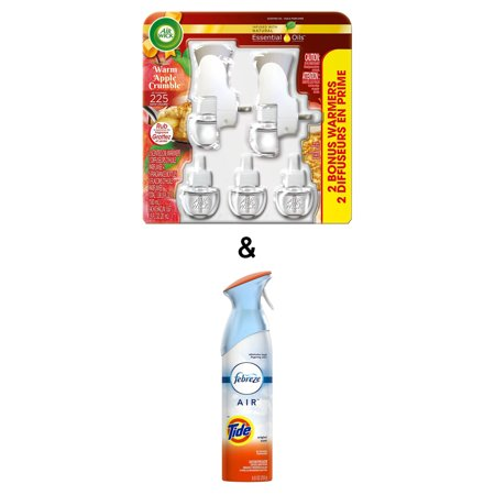 Air Freshener Tide Original 250g By Febreze & Plug-in Air Freshener, Scented Oil Kit, Warm Apple Crumble, 2 Plug-in & 5 Refills, Special Edition by Air Wick - image 1 de 1