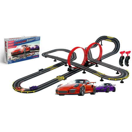 Digital Slot Car Racing (ARTIN SUPER LOOP SPEEDWAY Slot car Racing Set )