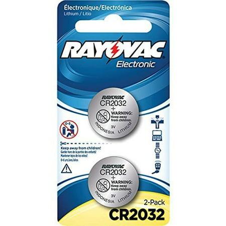 The BEST RAYOVAC 3V 2032 LITHIUM BATT 2 PK by