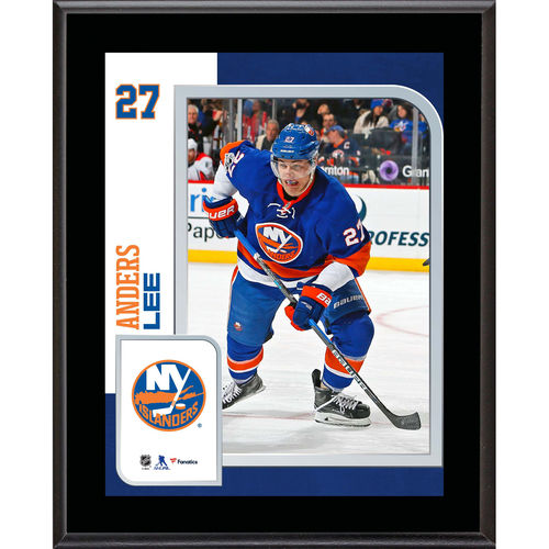 "Anders Lee New York Islanders 10.5"" x 13"" Sublimated Player Plaque - No Size"