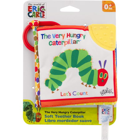 The World Of Eric Carle The Very Hungry Caterpillar Soft Teether Book - Hungry Little Caterpillar