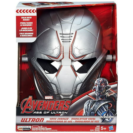 Marvel Avengers Age of Ultron Ultron Voice Changer Helmet - Halloween Voice Changer Amazon