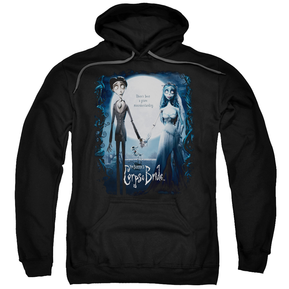 Corpse Bride Poster Mens Pullover Hoodie