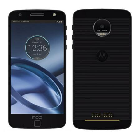Verizon Housing - Motorola Moto Z Droid Edition XT1650 Lunar Grey 32GB Verizon Wireless