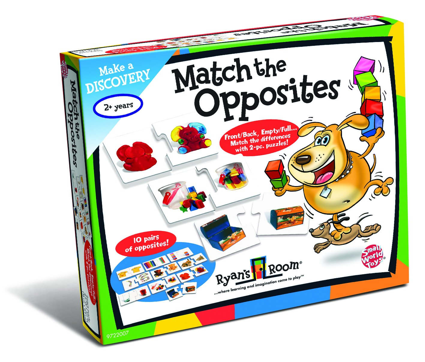 Click here to buy Small World Toys Match The Opposites Baby Toy by Small World Toys.