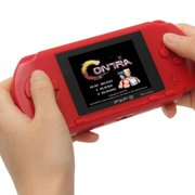 """100+ Games PXP3 2.7"""" LCD Screen Slim Handheld Video Game Console Portable Game Players (RED)"""