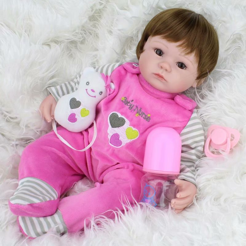 "Akoyovwerve Silicone Baby Dolls That Look Real,16"" Reborn ..."