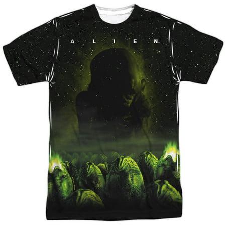 Alien Eggs (Alien Horror Sci-Fi Movie Egg Chamber Poster Adult 2-Sided Print)