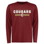 Charleston Cougars Team Strong Long Sleeve T-Shirt - Maroon