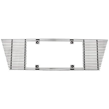 Edge Billet - IPCW (cwl-453b) 4mm Polished Aluminum Billet Angled Edge License Plate Frame