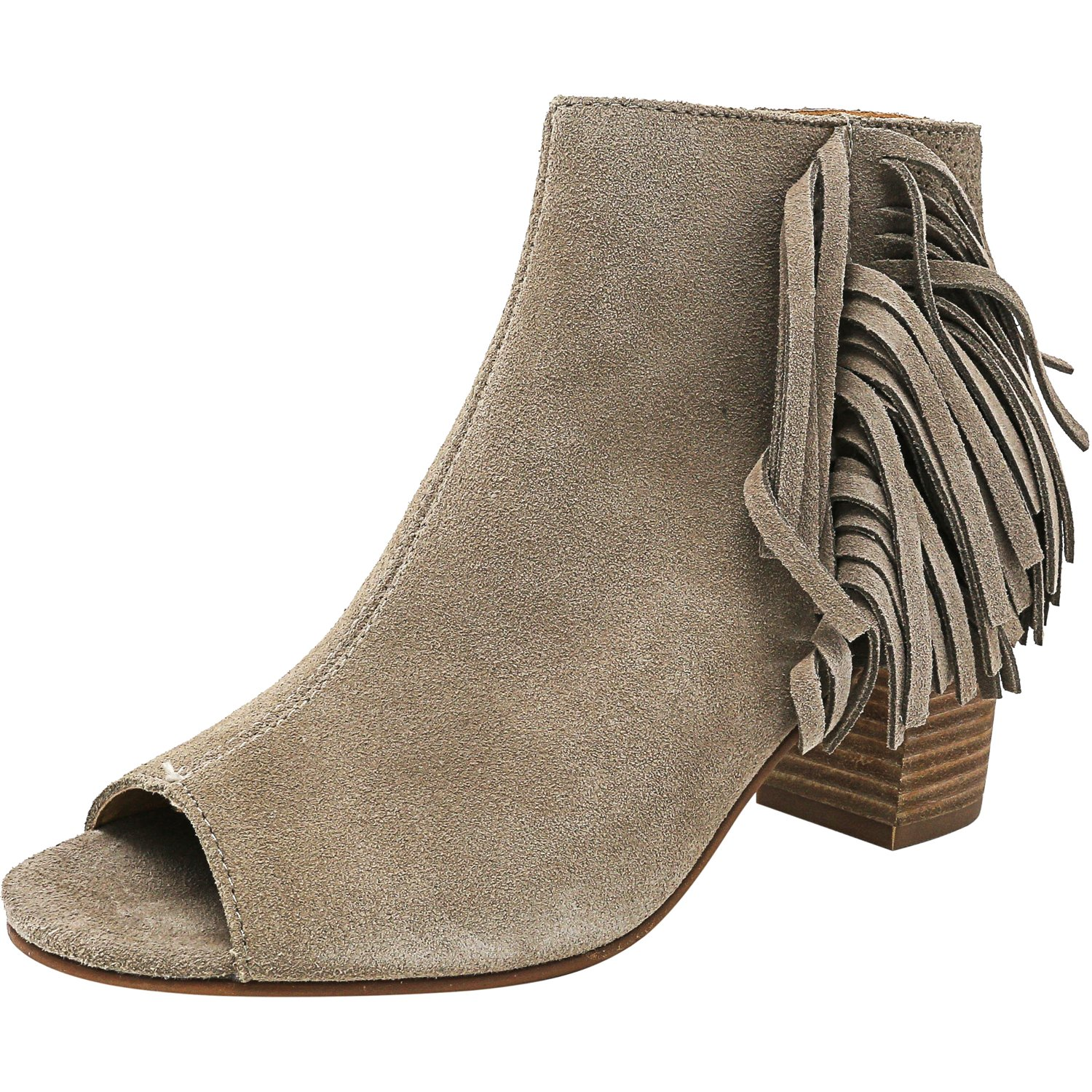 Kensie Women's Erika Taupe Ankle-High Suede Boot - 6.5M