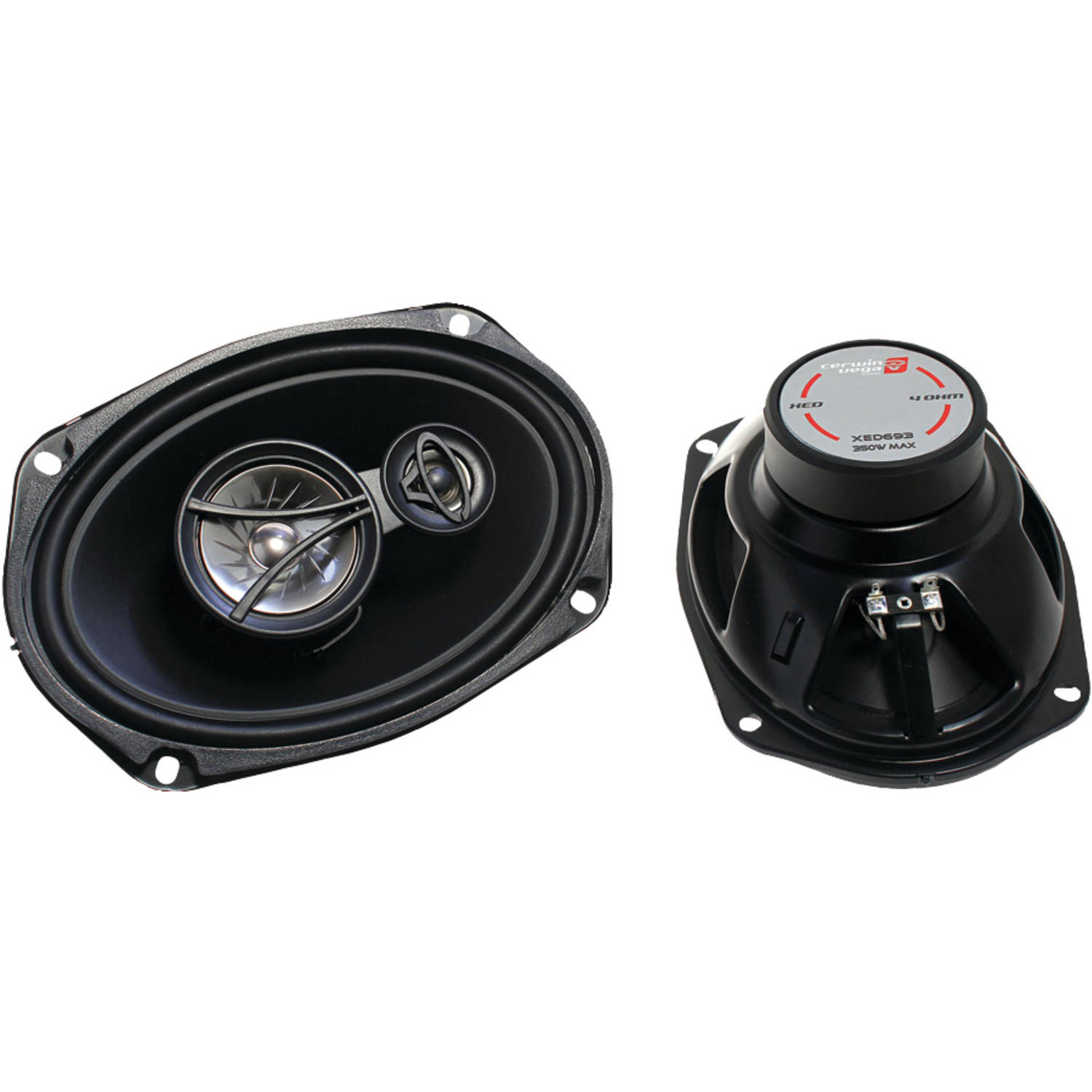 "Cerwin-Vega Mobile XED693 XED Coaxial Speakers (3 Way, 6"" x 9"")"