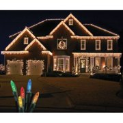 Christmas at Winterland S-ICM55M-IG Standard Icicle Lights M5 LED Multicolor Col
