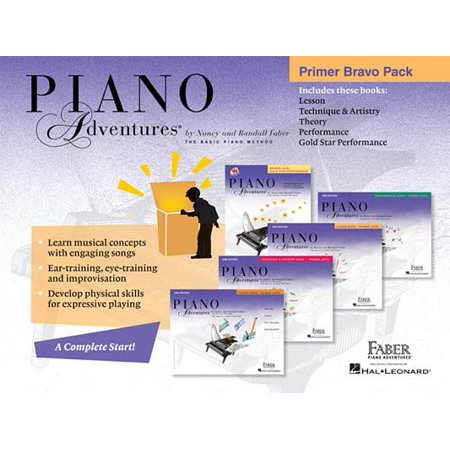 Piano Adventures Primer Bravo Pack : 5-Book Pack](This Is Halloween Note Piano)