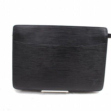 Pochette Noir Homme Zip Pouch 868818 Black Leather - Classic Pochette