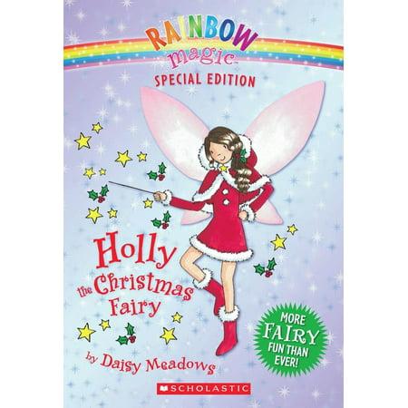 Rainbow Magic (Quality): Rainbow Magic Special Edition: Holly the Christmas Fairy (Paperback) Magic Fairy Journal