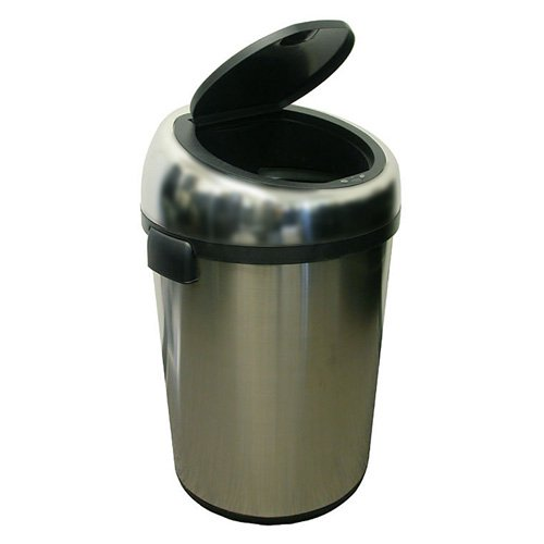 iTouchless Fully-Automatic Touchless 23-Gallon Trash Can NX, Stainless Steel