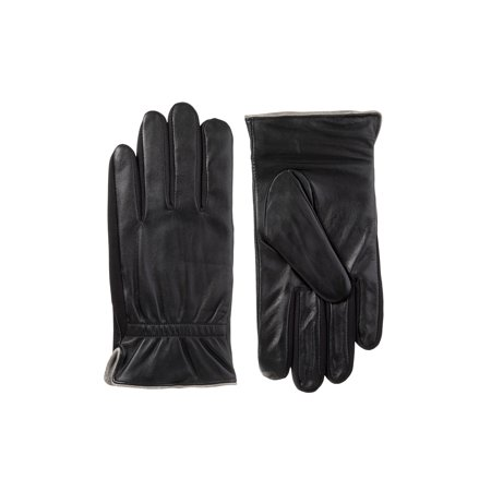 Isotoner smarTouch Leather Quilted Glove ()
