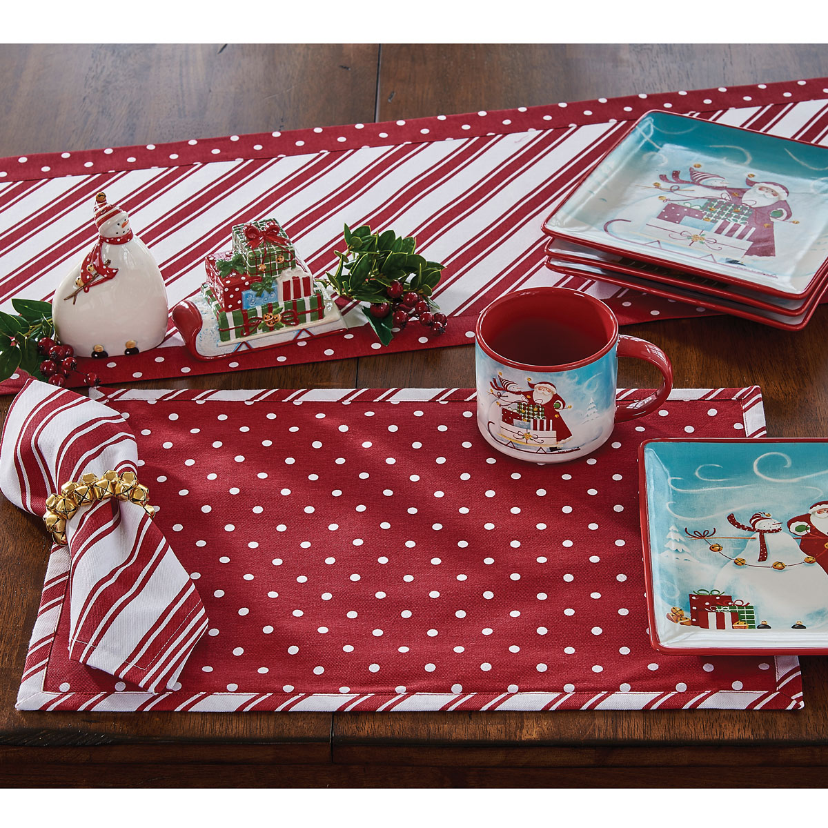 Peppermint Candy Placemat - Set of 4