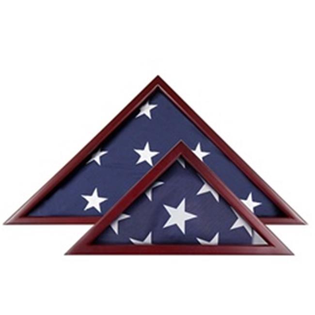 Annin Flagmakers 1926 Cherry Flag Case for 5 ft. X 9 .5 ft. Flag