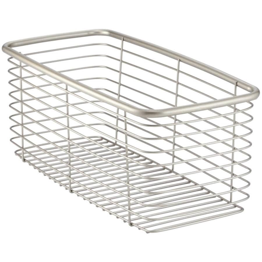 InterDesign Forma Bath Storage Basket, Various Sizes