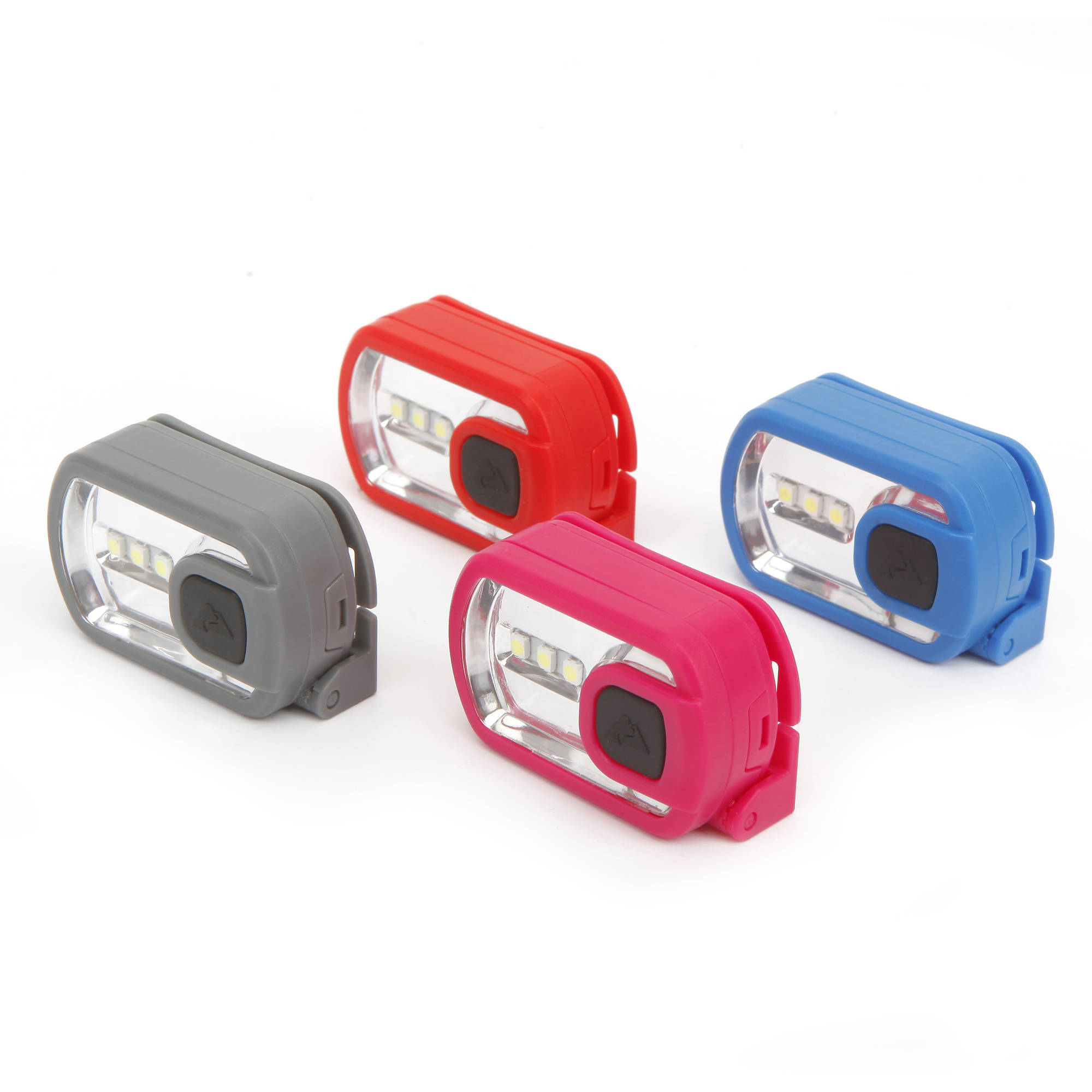 Ozark Trail 10-Pack, 3-LED Headlamp for Camping and Outdoor Use