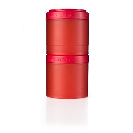 BlenderBottle ProStak Shaker Cup Expansion Pak 2x 250cc jars FC Red