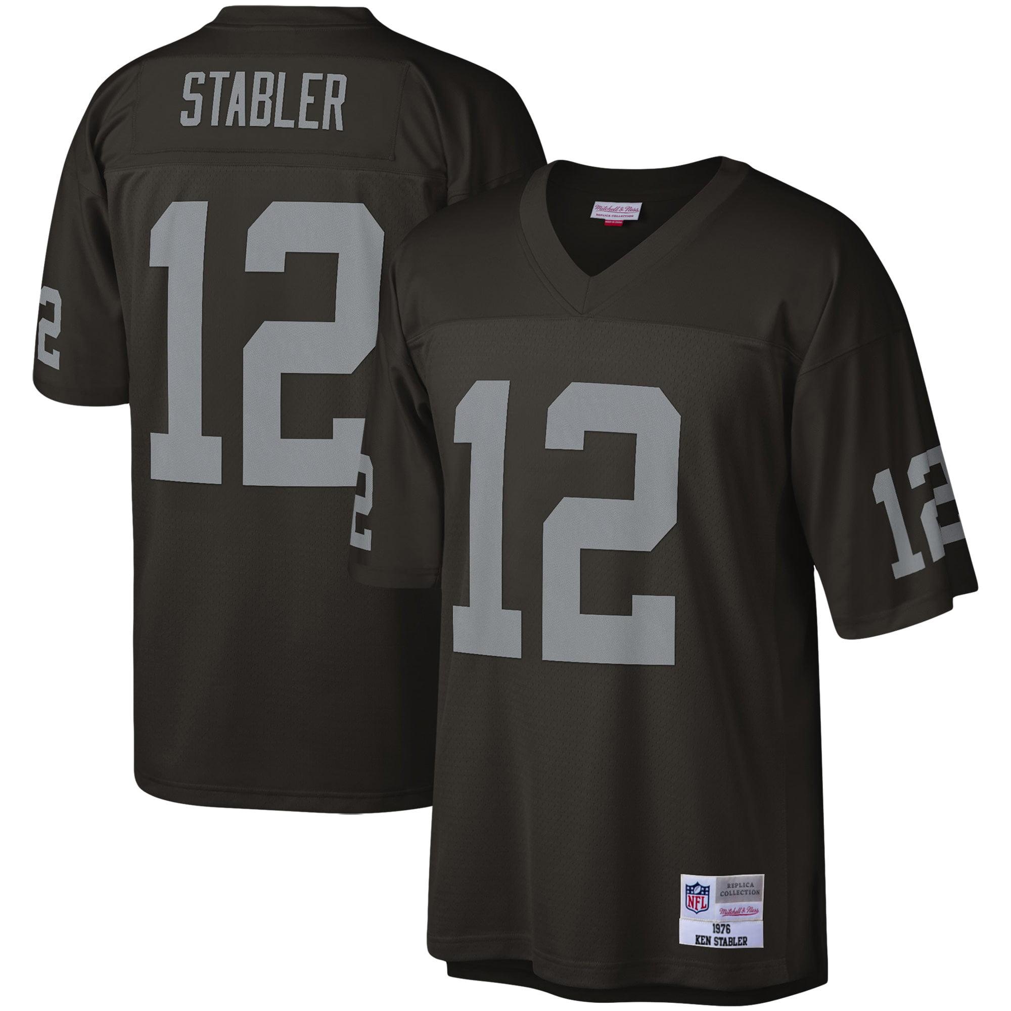 Ken Stabler Las Vegas Raiders Mitchell & Ness Legacy Replica Jersey - Black - Walmart.com