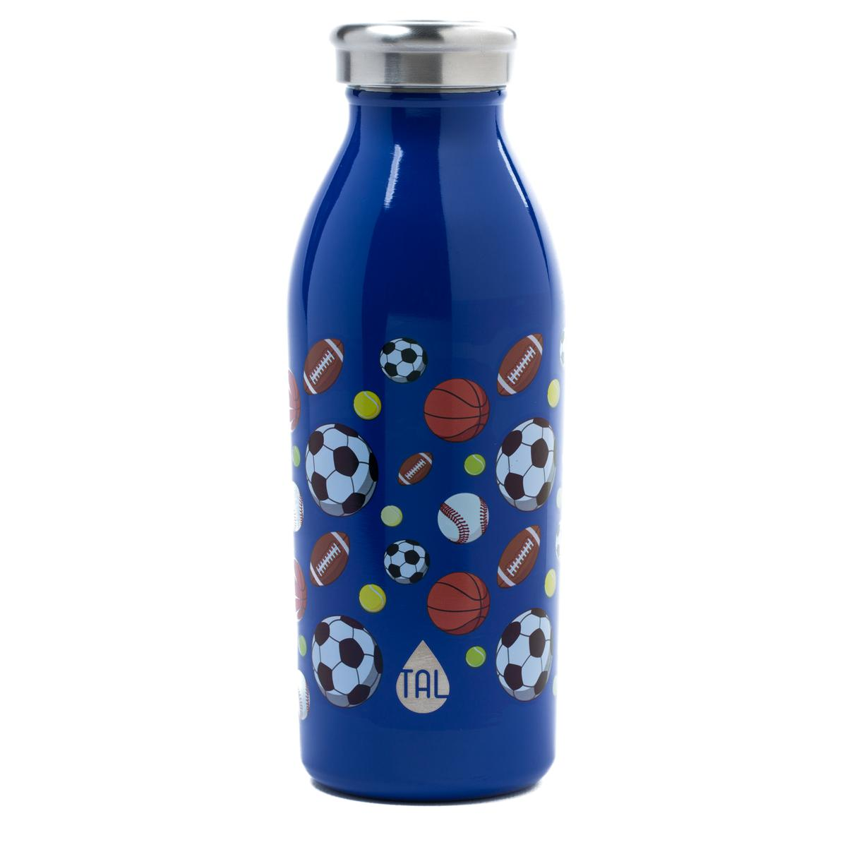 Tal Stainless Steel 12oz Double Wall Vacuum Insulated Modern Water Bottle- Unicorn Print