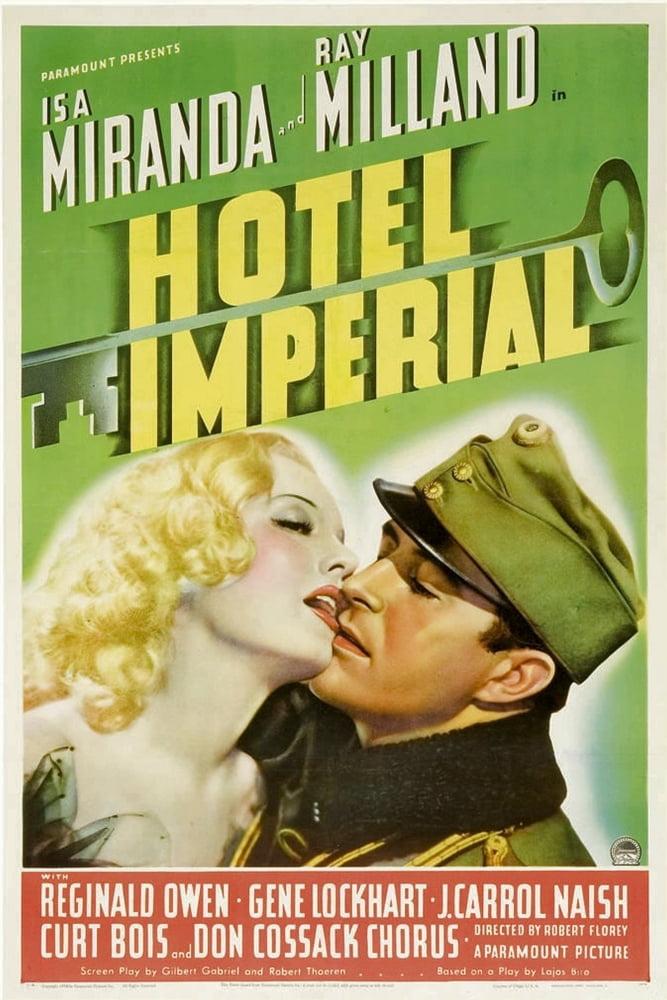 Hotel Imperial From Left: Isa Miranda Ray Milland 1939. Movie ...