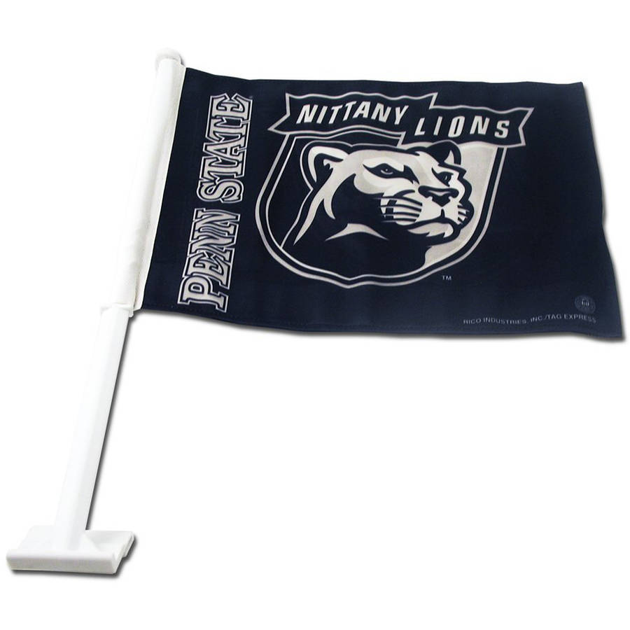 NCAA Penn State Car Flag