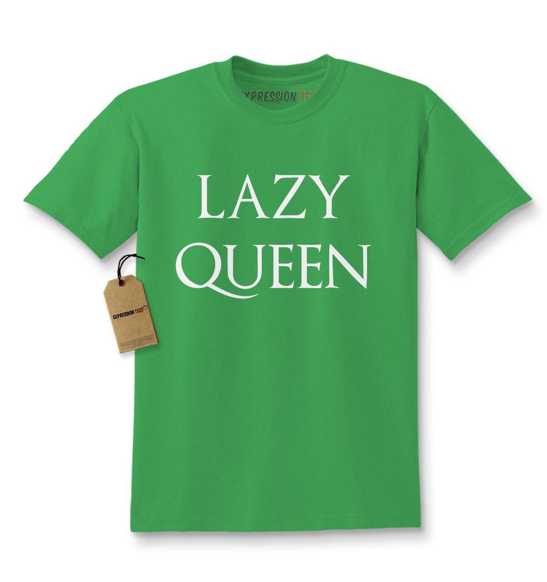 c2a5cc59136 Lazy Queen Kids T-shirt - Walmart.com