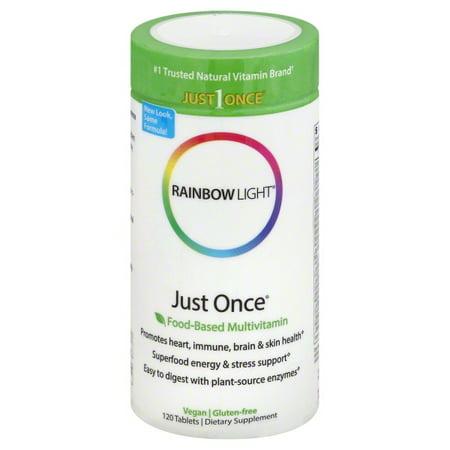 Clinical Nutrients 120 Tabs (Rainbow Light Just Once® Multivitamin 120)