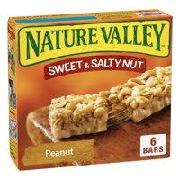 Nature Valley Granola Bars Sweet and Salty Nut Peanut 6 Bars - 1.2 oz