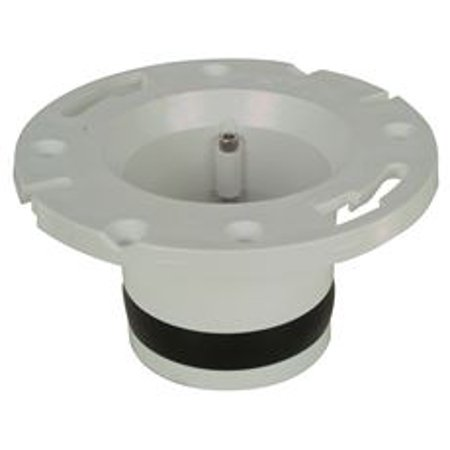 Integral Flange - Pvc Plastic Compression Closet Flange, 4 In.
