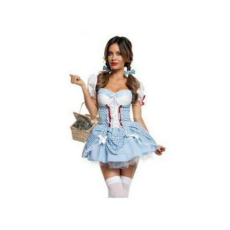 Sweet Dorothy Costume S2005 Starline Baby Blue/White - 3t Dorothy Costume