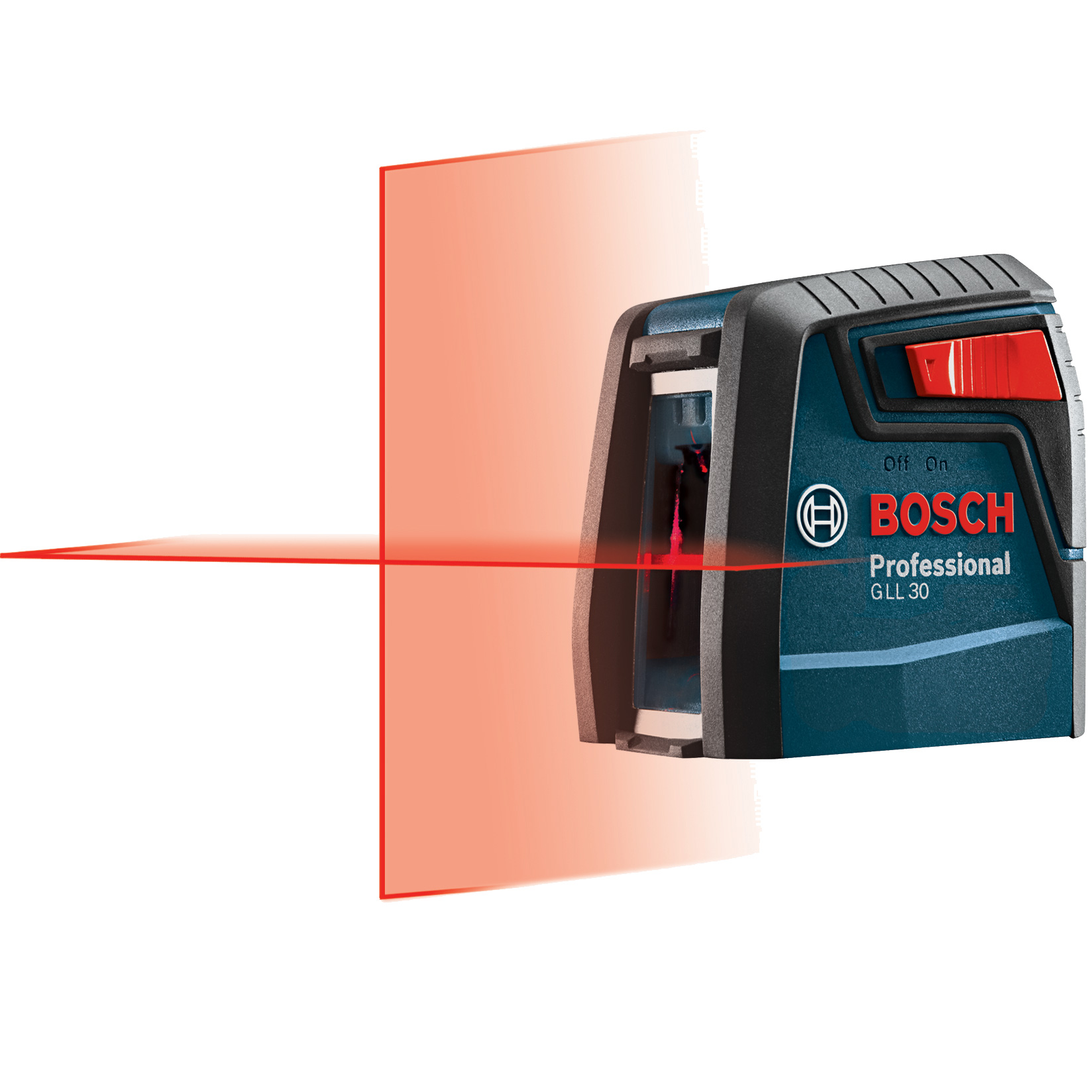 Bosch GLL30-RT 30' Self-Leveling Cross-Line Laser Mfr. Refurbished by Bosch Power Tools