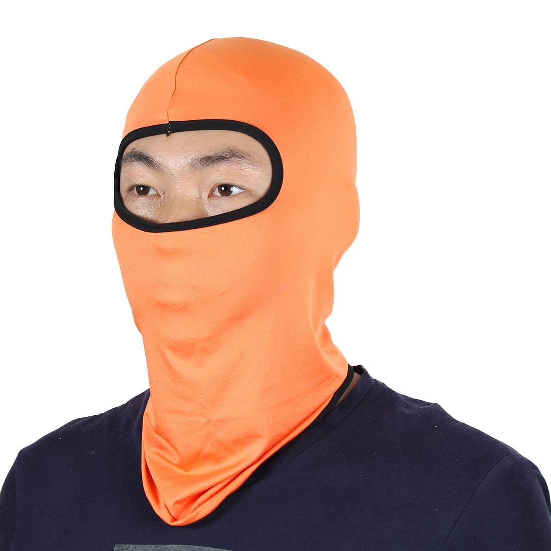 Face Mask Activities Cycling Biking Neck Protector Hat Helmet Balaclava Orange