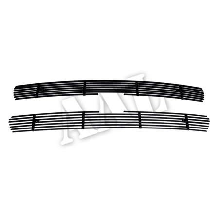 2002 Chevy Suburban - AAL BLACK BILLET GRILLE / GRILL INSERT For 2000 2001 2002 2003 2004 2005 2006 CHEVY SUBURBAN 2PCS UPPER BOLTON BLACK