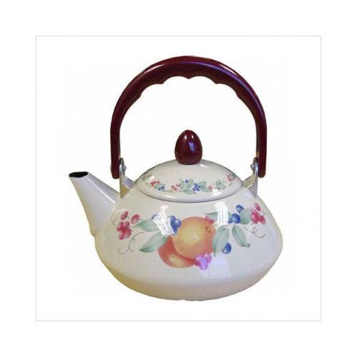 Bundle-65 Corelle Impressions Abundance Personal Tea Kettle 38 oz
